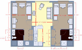 Two Bedroom Floor Plans by 2 Bedroom Floor Plan With Dimensions U2013 Home Ideas Decor