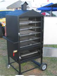 build electric smoker like this outdoor kitchen build