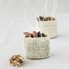Favor Bags by Mini Woven Favor Bags