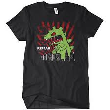 rugrats reptar rugrats t shirt funny cartoon textual tees