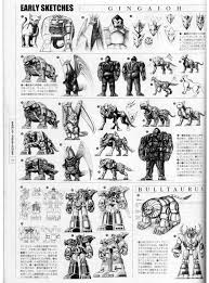 henshin grid mecha zords early designs scrapped ideas 2