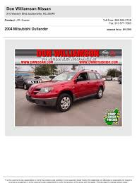 printbrochure 2004 mitsubishi outlander used full 9672000