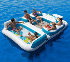 Backyard Inflatable Pool by 22 Ridiculously Awesome Pool Floats Brit Co
