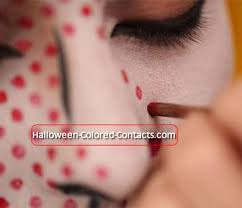 scary halloween makeup looks colored contacts u0026 halloween