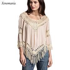 boho crochet kimono boho crochet blouse women blouses hippie tops cheap clothes
