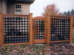 11 best courtyard decorative fence images on wrought