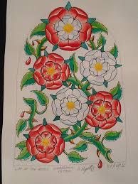 yorkshire irish st tattoo