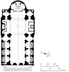 basilica floor plan oratorio borromini and il gesù rome