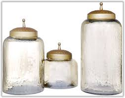 mercury glass kitchen canisters home design ideas