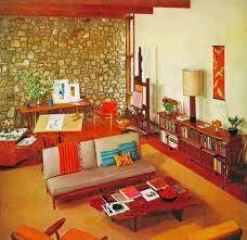 Stone Living Room Living Room Foxy Image Of Vintage Retro Living Room Decoration