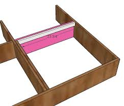 ana white corner hutch plans for the twin storage beds diy
