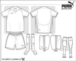 football kit template templates collection clip art library