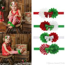 christmas hair accessories baby christmas hair accessories boutique hair band with fabric bow