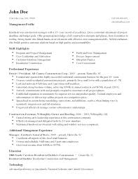 Sample Resume New Format 2015 by Winning Free Construction Project Manager Resume Template Sample