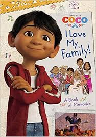 i my family a book of memories disney pixar coco edlin