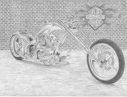 harley davidson motorcycle drawings page 5 of 7 fine art america