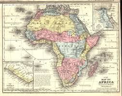 European Exploration Map European Exploration Of Africa