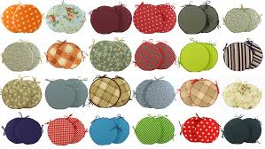 round seat cushions for kitchen chairs excellent glamorous pillows