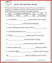 5th grade compound subject and predicate worksheets 5th grade