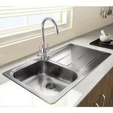 Brushed Finish Kitchen Sinks Brushed Stainless Steel Sink Tap - Brushed stainless steel kitchen sinks