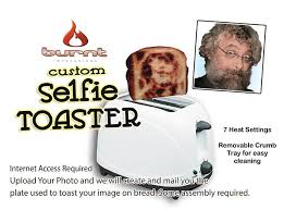 Toaster Face The Selfie Toaster U2013 Burnt Impressions Brand Novelty Toasters