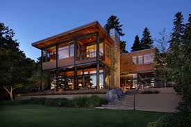 steel house plans grand glass lake house with bold steel frame