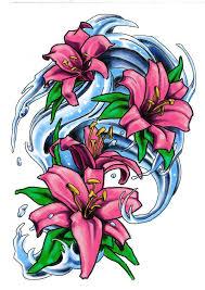 new school water tattoo water lilies by milkshakepunch on deviantart