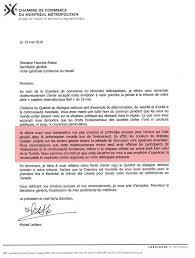 chambre de commerce tunisie la chambre de commerce de montréal s excuse après la confusion des