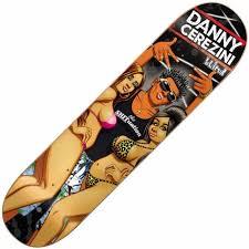 Blind Skate Logo Blind Skateboards Blind Danny Cerezini Brazillian Shore Deck 8 0