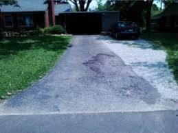 concrete driveway sinking repair sinking concrete driveway buyer s inspection service