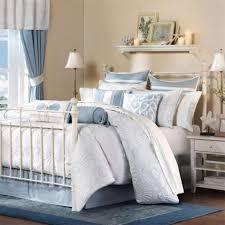 coastal theme bedding coastal bed furniture look bedding sea bathroom decor blue
