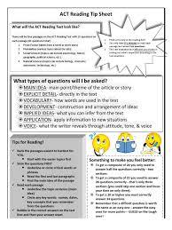 act reading tip sheet notebooking pdf science epistemology