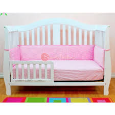 Convertible Crib Guard Rail Athena Afg Desiree 4 In 1 Convertible Crib With Guardrail White