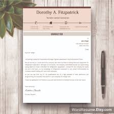 creative cv template with cover letter and references word