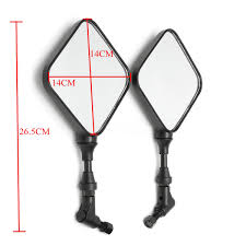 motorcycle rear view mirrors 10mm for suzuki dr 200 250 dr350 drz