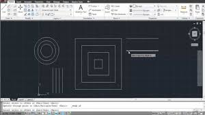how to offset in autocad youtube