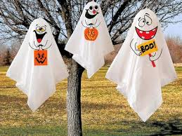 Halloween Decorations Tree Ghosts by 125 Cool Outdoor Halloween Decorating Ideas Digsdigs