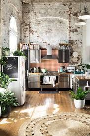 kitchen interior brick wall faux brick exterior decorative