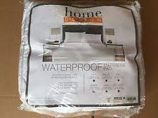 home design waterproof mattress pad home design waterproof cotton queen mattress pad y1022 ebay