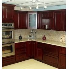 Paint Colors For Kitchens With Cherry Cabinets Cherry Kitchen Cabinets Beech Wood Dark Cherry Color Superior