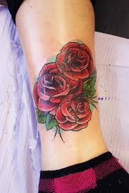 right leg rose tattoo design photo 2 2017 real photo pictures