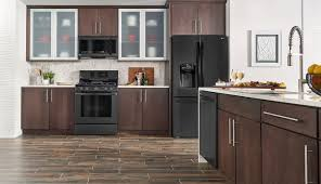 how to clean matte black cupboards lg matte black stainless steel embrace the side lg