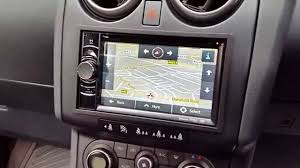 nissan qashqai qashqai 2 nissan qashqai double din navigation clarion nx501e built in