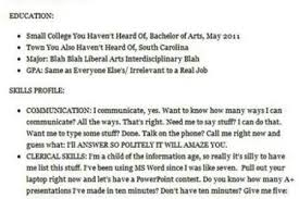 Worst Resumes Ever Pophangover Presents The Funniest Resume Fails Ever Worst Resume