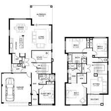 two storey residential floor plan appealing two storey residential house floor plan for best 2 modern