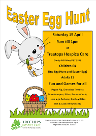 easter egg hunt treetops hospice care