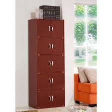mahogany bookcases home office furniture the home depot