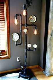 Led Floor Lamps Home Depot by Floor Lamp Plumbing Pipe Floor Lamp Guitar Led Lamps Home Depot