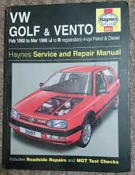 vw golf iii vento haynes manual pdf