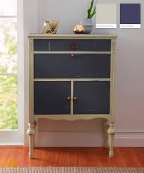 gray furniture paint chalky paint finish